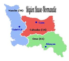Régions Basse-Normandie
