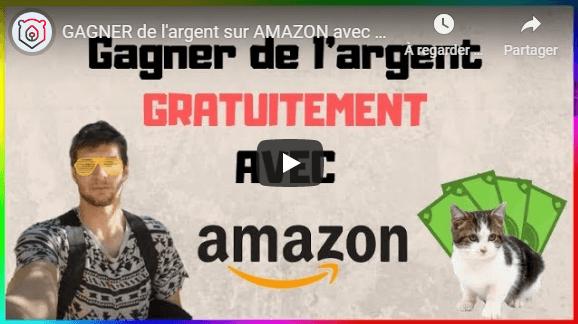 Amazon pour gagner comme tu veux de l'argent