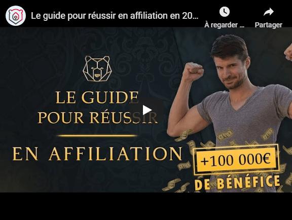Le guide l'affiliation
