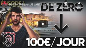 Cent euros par jour