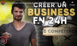 Créer un business en 24h